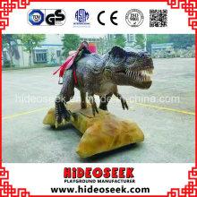 Dinosaurio modelo interior de interior para la exhibición