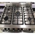 Western Kitchen Equipment Stainless Steel Range Gas Oven