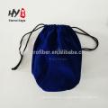 Bolso de joyería de terciopelo con logo y tamaño personalizado con cordón