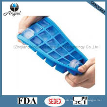 18-Cavity Square Silikon Eisform Hersteller Cube Tray Si12