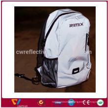 New design whole reflective sport laptop travel backpack reflective shoulder backpack bag