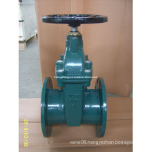 DIN F4 Soft Sealing Rising Stem Gate Valve