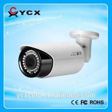 Haute qualité AHD IR varifocal Bullet caméra cctv, prix bas caméra cctv bullet