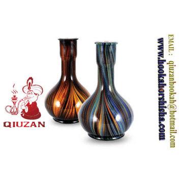 Coloré de grande taille Egypte narguilé bouteille Vase