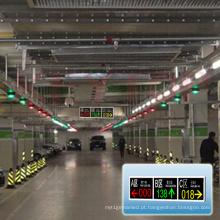 Tela exterior da mensagem do diodo emissor de luz do parque de estacionamento do sistema de orientação do estacionamento