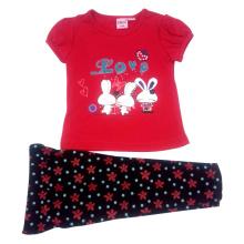 Summer Baby Girl Kids Suit dans les vêtements Chidren