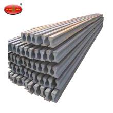 Proyecto de minería Q235 Carril de acero de 30kg Carril de acero de carril ligero