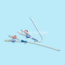 Single Double Triple Lumen Inapokanzwa Hemodialysis Catheter