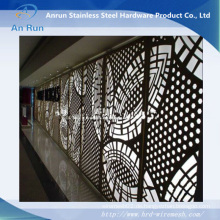 Metall Aluminium Perforierte Laser Cut Dekorative Platte mit Leed Test