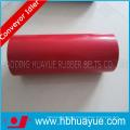 Rubber Conveyor Belting System Roller Diameter 89-159mm Color Black Red Huayue