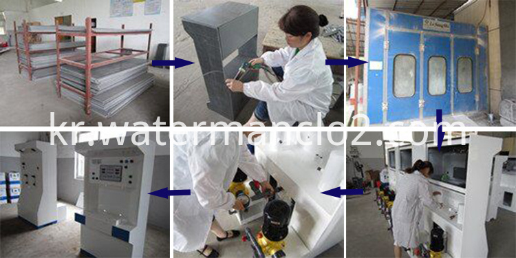 Sterilizer Production Facility-Production Process