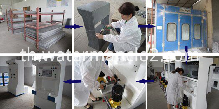 Automatic Control Odor Cleaner Making Machine-Production Process
