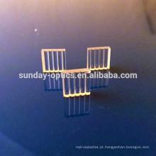Lente de linha de laser, vidro k9, dia8mmx2.5mm, 30 graus