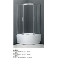 2014 Porte-douche coulissante 3 panneaux avec haute qualité