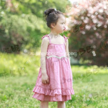 mauve color western dance dress for girls