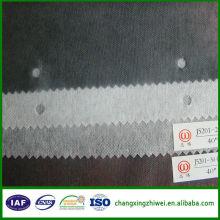 """Tissu intercalaire fusible à double face de 36 """"-60"""" pour le vêtement"""