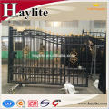 iron fancy gate boundary wall gate design