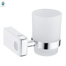 Bathroom accessories brass tumbler holder shower cup hanger