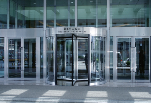 Commercial Glass Entry Door With CE Certificate
