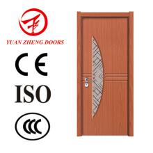 África Hot Sale PVC Door Panel Projetos de porta de madeira