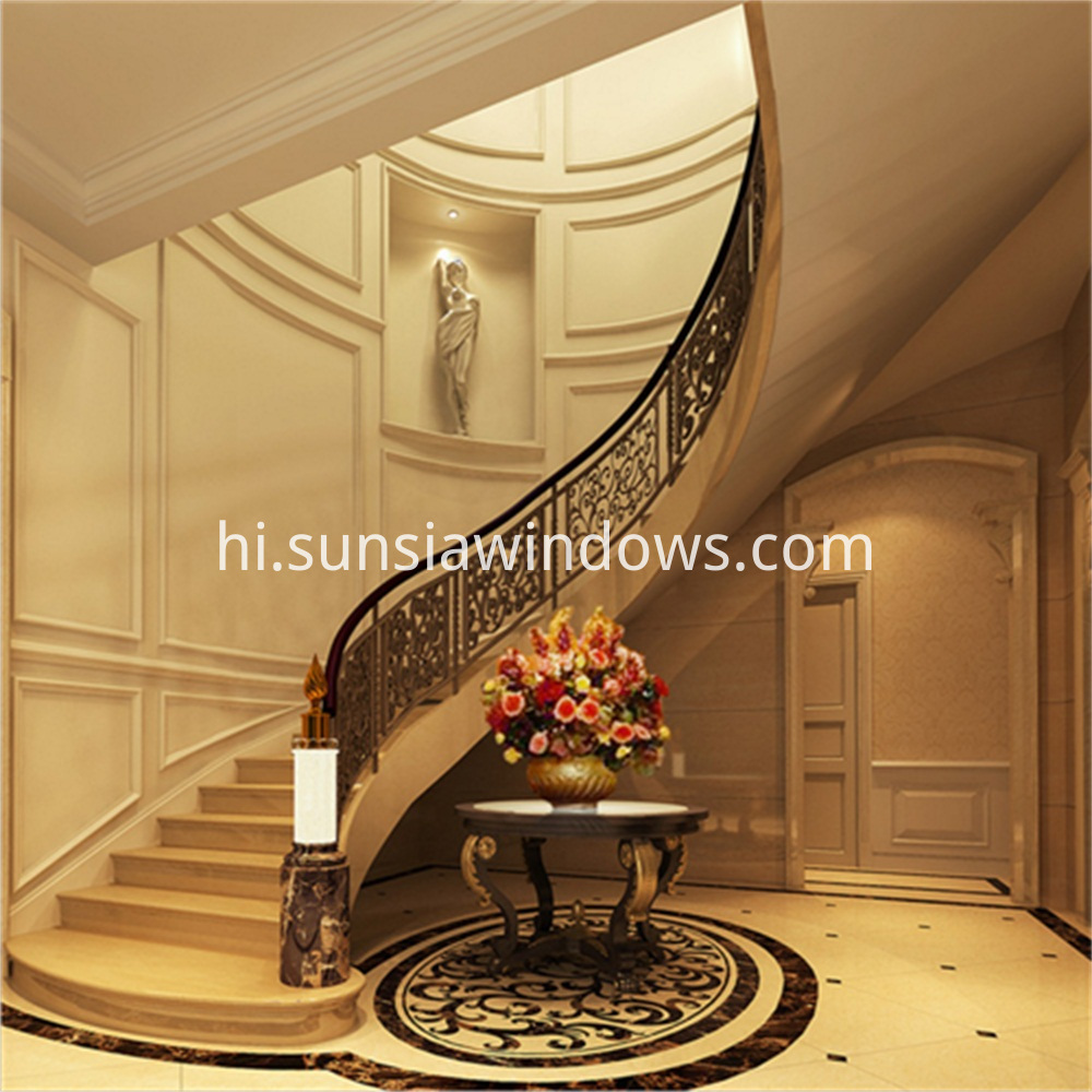 Indoor Stair Handrails