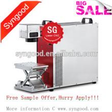 Máquina da marcação do laser da fibra de Syngood SG10F / SG20F / SG30F-Special para a etiqueta de cão do metal