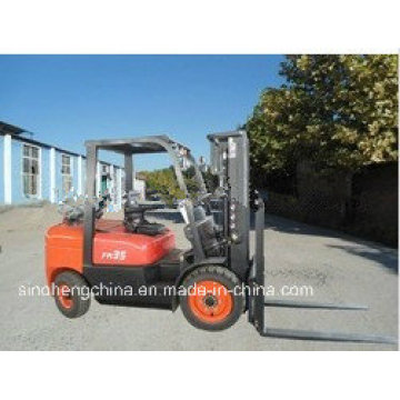 3.5 Tons Logistics Lifting Equipment Forklift Truck with LPG/Gas