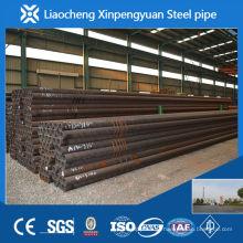 Vários tamanhos de tubos de aço sem costura de importação da China