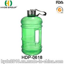 Bouteille d'eau en plastique du sport PETG de 2.2L, cruche d'eau en plastique de capacité élevée de vente chaude (HDP-0618)
