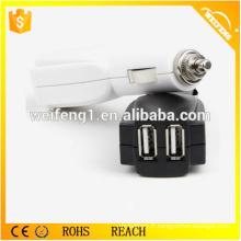 Double USB Mini Chargeur de batterie de voiture / Chargeur de voiture Plug Q6
