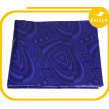 Promoción 100% algodón telas jacquard africano bazin riche en tela haciendo abaya