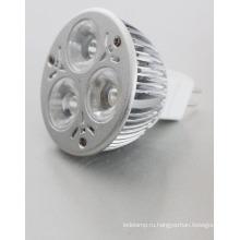12V постоянного тока 3 Вт MR 16 светодиодные Прожектор E27 GU10 светодиодный Прожектор