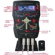 Fonte de alimentação de tatuagem de Edison dispositivo-380 de alta qualidade