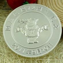 Новые продукты подгонять 3D ремесло логотип металл Сувенирная монета памятная