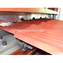 feuille de métal portatif profileuse pour tuile de toit Étape fabriquée en Chine