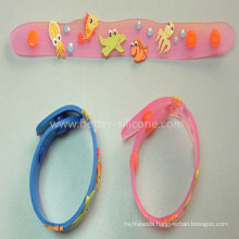Hot Sale Customized Soft PVC Wristband