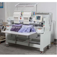 ORDER 2 heads cap /flat Computerized Embroidery Machine High speed embroidery machine china prices