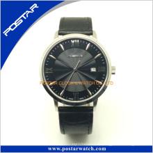 Los relojes de pulsera de lujo de la marca para los hombres y las mujeres dan la bienvenida del OEM del acero inoxidable