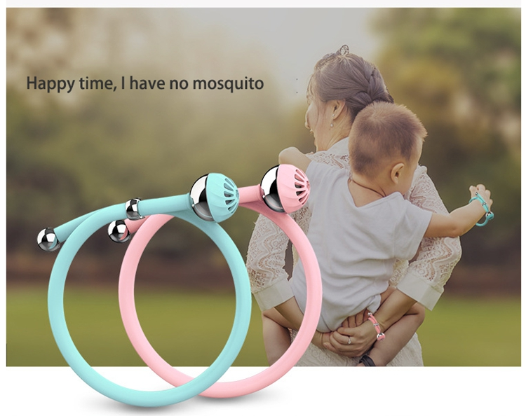 unique silicone mosquito bands