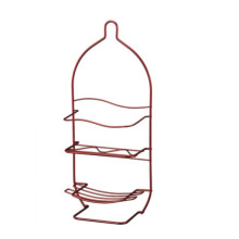 Metal 2 Tier Bathroom Rack