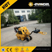 Rodillo compactador vibratorio estático hidráulico de 0.8 toneladas LUTONG Mini LTC08H