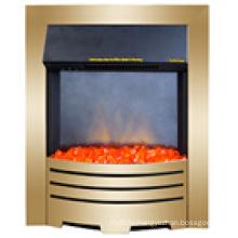 Indoor Dz8 Brass Electric Insert Fireplace