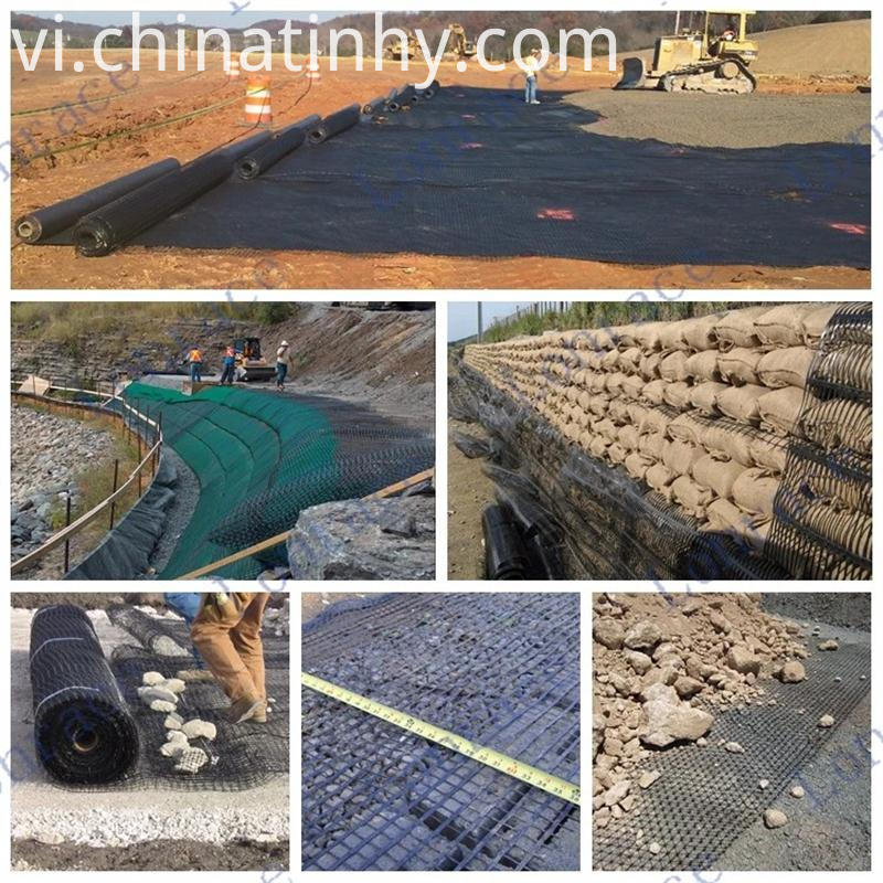 Geogrid Application