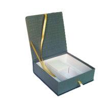 Caixa rígida para embalagem de alto-falantes sem fio