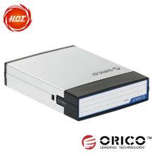 """ORICO AHP-35 (CALIENTE) Protector de aluminio de aluminio negro del metal HDD, caja del recinto de la protección de datos del caso Protección HDD 3.5 """"venta caliente"""