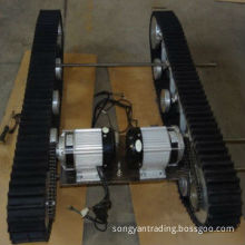 Industrial Machine Rubber Track Chassis