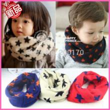 Los nuevos niños calientes calientes de las lanas del invierno embroma las bufandas 3 del pañuelo de la bufanda de Snood de los muchachos calientan