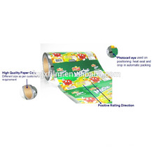Película de barrera contra la humedad para envasado de alimentos secos