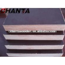 12mm, 15mm, 18mm, 21mm Brown Film Faced Sperrholz mit hoher Qualität