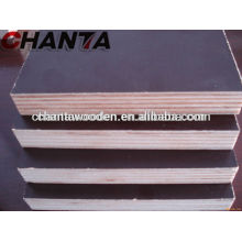 12mm,15mm,18mm,21mm Brown Film Faced Plywood with high quality